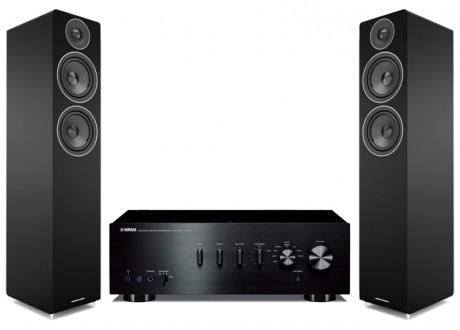 Conjunto Yamaha A-S301 con Acoustic Energy