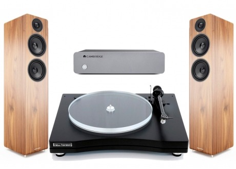 Conjunto Cambridge Audio Solo mas New Horizon 202 y AE109